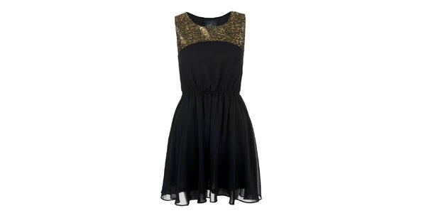 Dámske šaty s lesklým detailom Madam rage