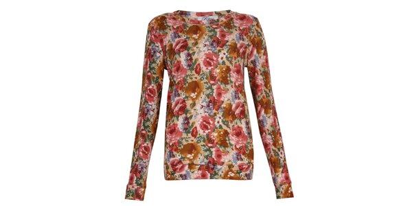 Dámske kvetované tričko Madam Rage