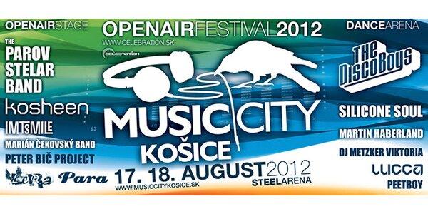 Festival Music City Košice