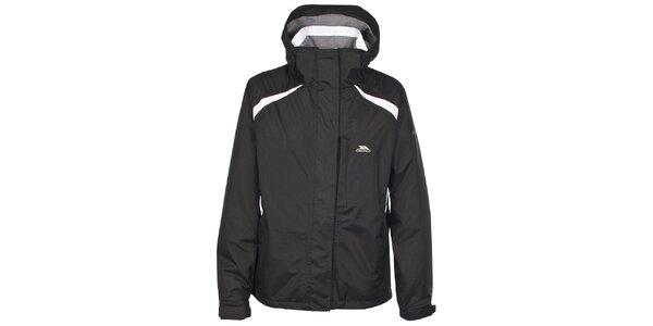 Dámska čierna nepremokavá zimná bunda Trespass