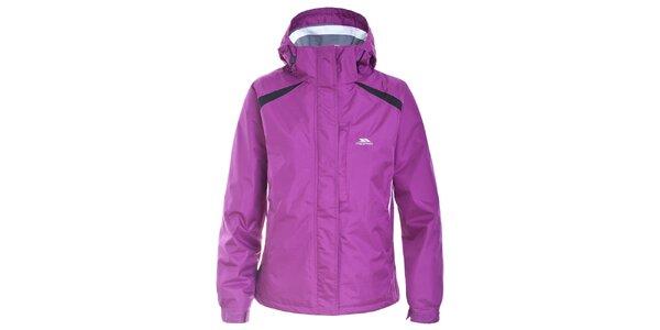 Dámska fialová nepremokavá zimná bunda Trespass