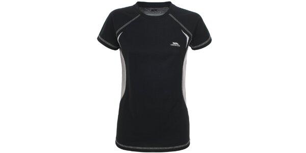 Dámske čierne funkčné tričko Trespass