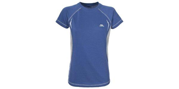 Dámske modré funkčné tričko Trespass