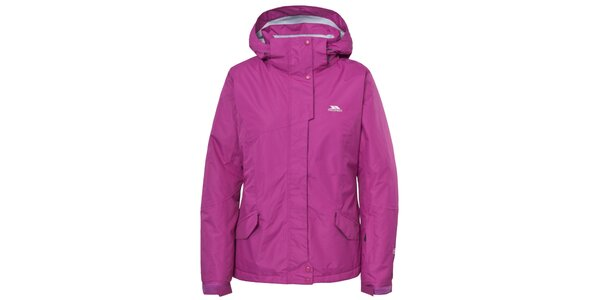 Dámska lyžiarska bunda v ružovej farbe Trespass