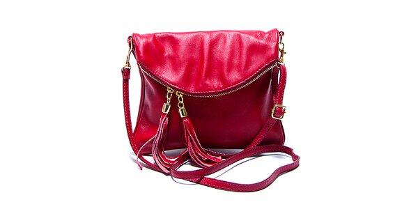 Dámska malá červená kabelka Renata Corsi