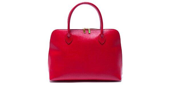 Dámska červená kabelka Renata Corsi