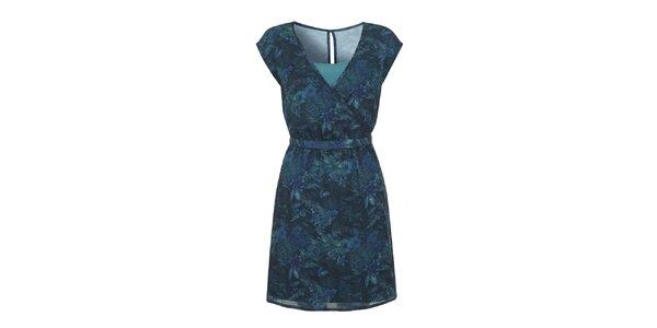 Dámske petrolejové šaty Yumi
