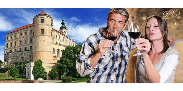 3-dňový pobyt pre milovníkov vína – Valtice