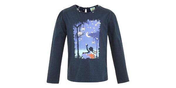 Detské modré tričko s rozprávkovým motívom Uttam Boutique