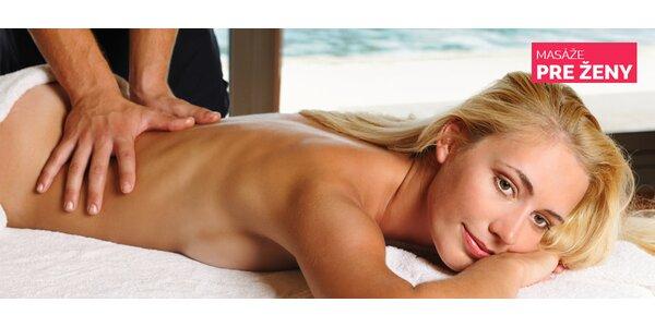 Oddýchnite si pri celotelovej masáži