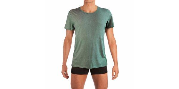 Zelené pánske tričko Mossman