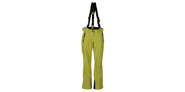 Dámske zelené lyžiarske nohavice Trimm Elli