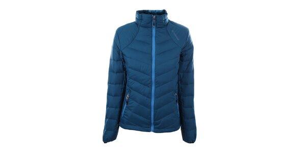 Dámska modrá páperová bunda Trimm