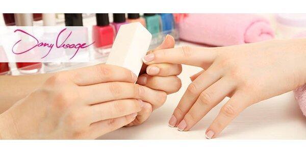 Japonská manikúra alebo gélové nechty