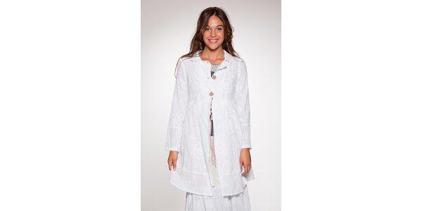 Dámsky biely kabátik Ian Mosh