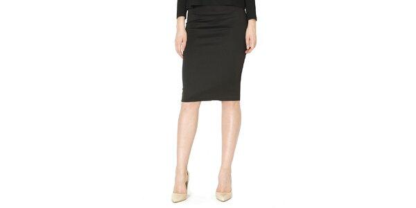 Dámska čierna púzdrová sukňa Santa Barbara