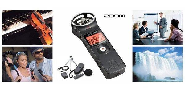 96,75 eur za profesionálny audio rekordér ZOOM H-1 s doplnkovou súpravou so…