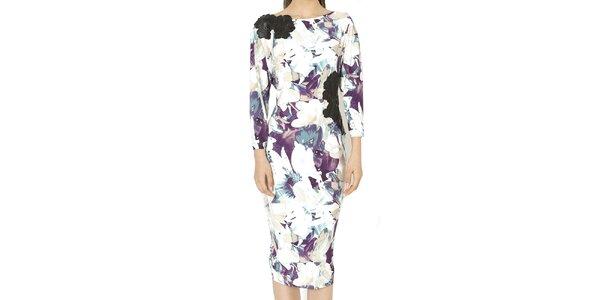Dámske šaty s kvetinovou potlačou Santa Barbara