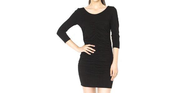 Dámske čierne mini šaty Santa Barbara