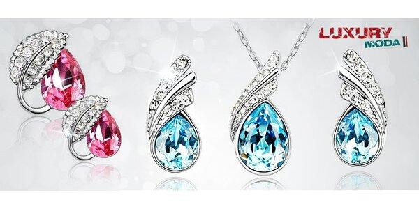 Elegantný set šperkov Swarovski Elements