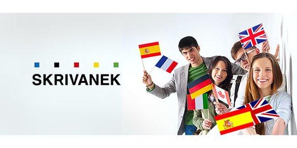Semestrálne jazykové kurzy Skrivanek