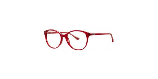 Dámske červené retro obruby Kenzo