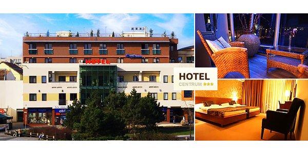 Hotel Centrum*** pri Divadle Andreja Bagara v izbách nadštandardnej kvality