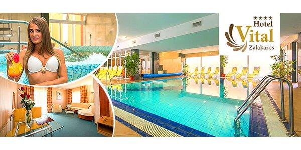 Bohatý wellness v maďarskom honosnom hoteli