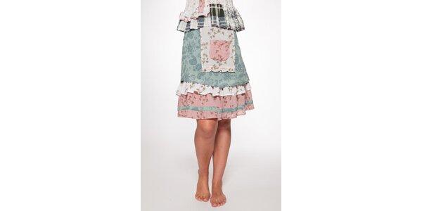 Dámska vrstvená sukňa s vreckom Ian Mosh