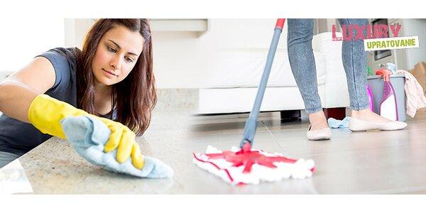 Upratovanie domov, bytov a umývanie okien
