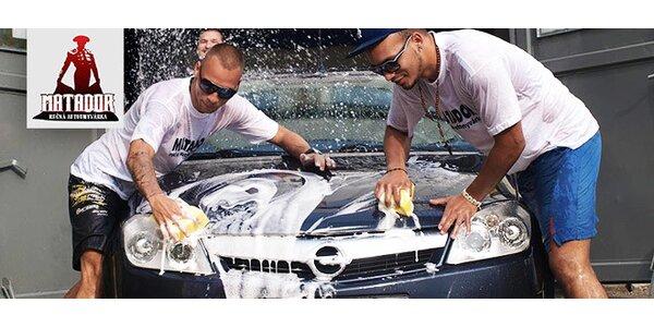 Umytie, tepovanie a čistenie interiéru aj exteriéru vozidla