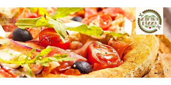 Zdravá pizza - aj bezlepková, aj vegánska