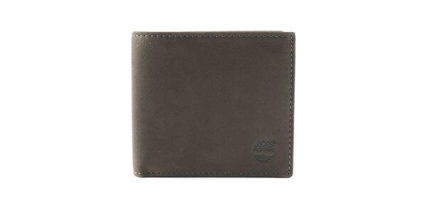 Pánska tmavo hnedá prešívaná peňaženka Timberland