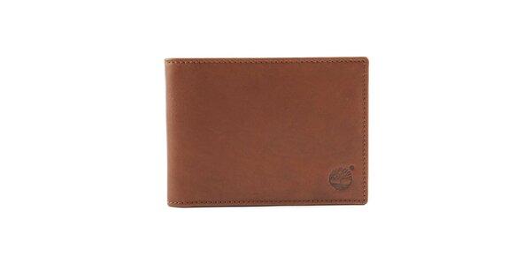 Pánska peňaženka v hnedej farbe Timberland