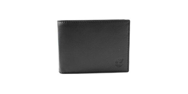 Pánska čierna peňaženka s logom Timberlan