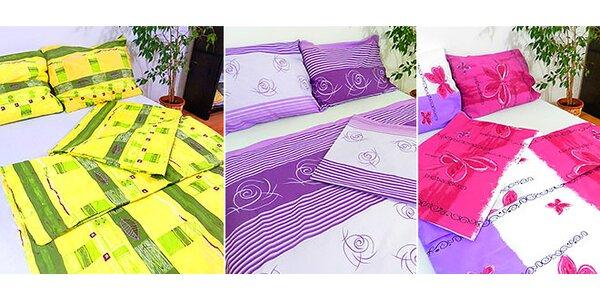 Posteľná súprava na 2 postele zo 100% bavlny