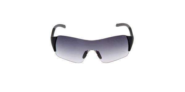 Čierne slnečné okuliare s gradientným efektom Fila