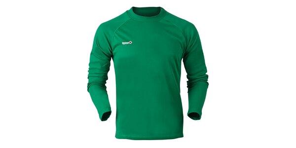 Pánske zelené funkčné tričko Izas