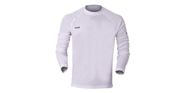 Pánske biele funkčné tričko Izas