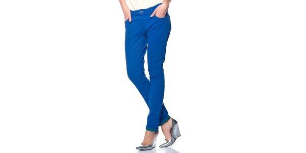Dámske kobaltovo modré nohavice Jimmy Key
