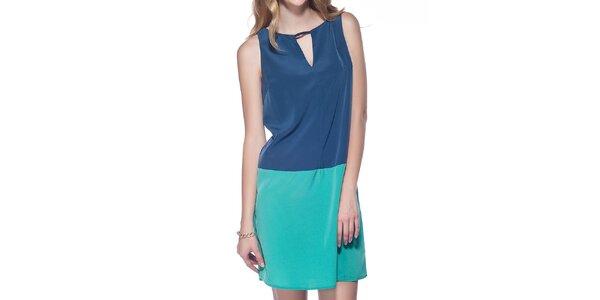 Dámske modro-azurové šaty Jimmy Key
