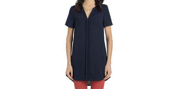 Dámska dlhá modrá košeľa Compania Fantastica