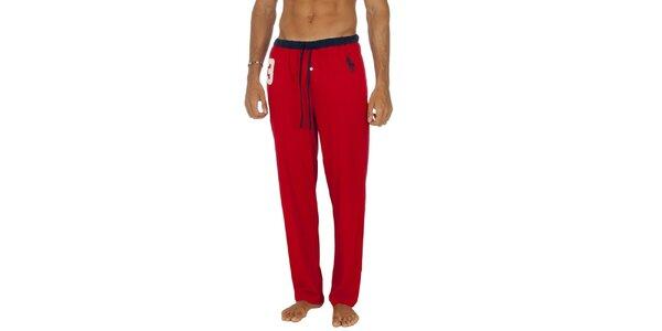 Pánske červené pyžamové nohavice Ralph Lauren