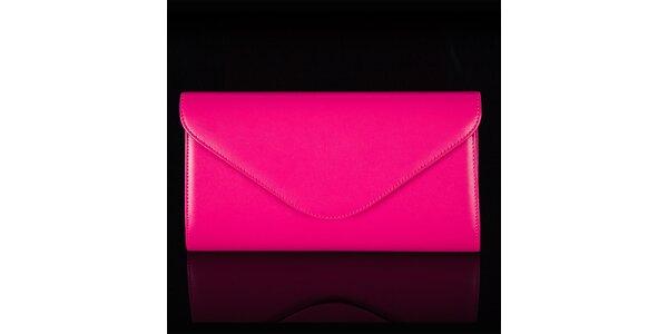 Dámska ružová listová kabelka Felice