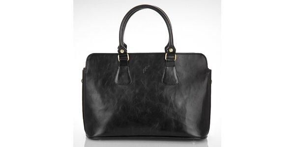 Dámska čierna obdĺžniková kabelka Felice