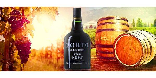 Luxusné portské víno Valdouro Tawny