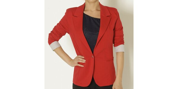 Dámske červené sako Chaser
