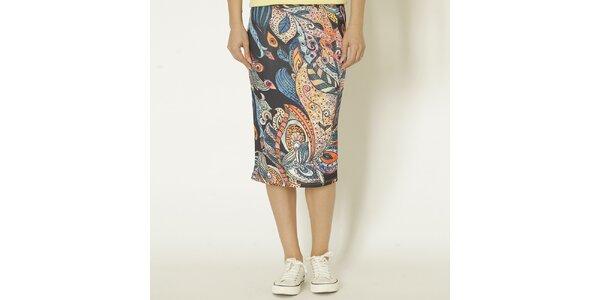 Dámska sukňa s farebným vzorom Chaser