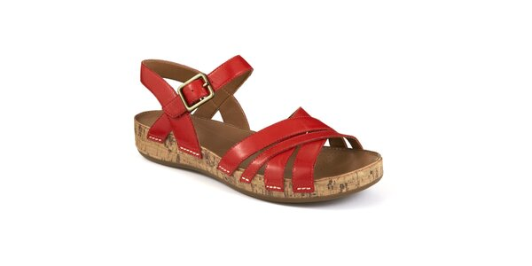 Dámske remienkové sandále Clarks