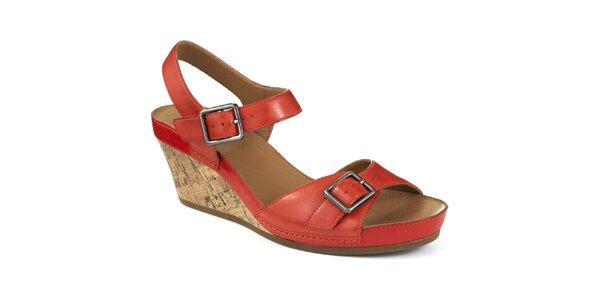 Dámske sandále na kline Clarks